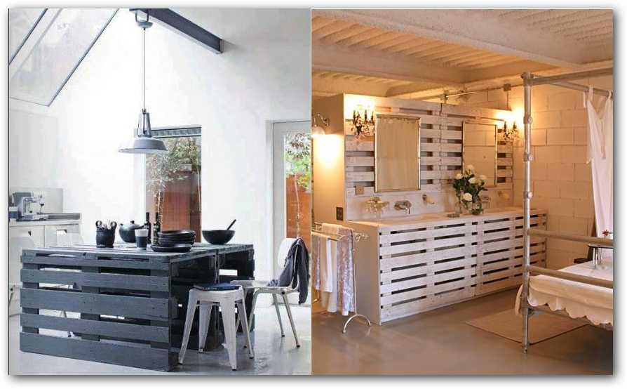 Construccion y manualidades hazlo tu mismo junio 2013 - Reciclar palets para muebles ...