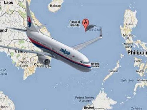 Malaysia Airlines - ilustrasi lokasi