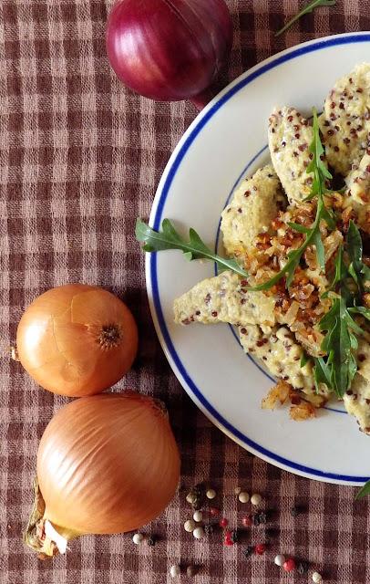 kluski kładzione bezglutenowe z quinoą