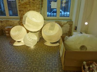 Lámparas artesanales de Céline Wright