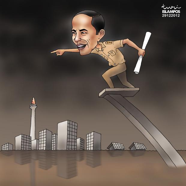 Jokowi showcased 9