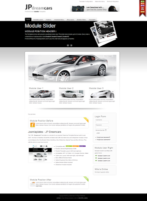 Joomla car templates