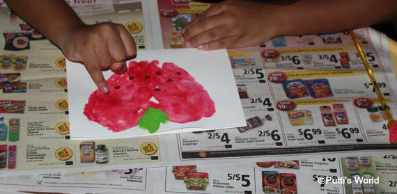 HandPrint Strawberry