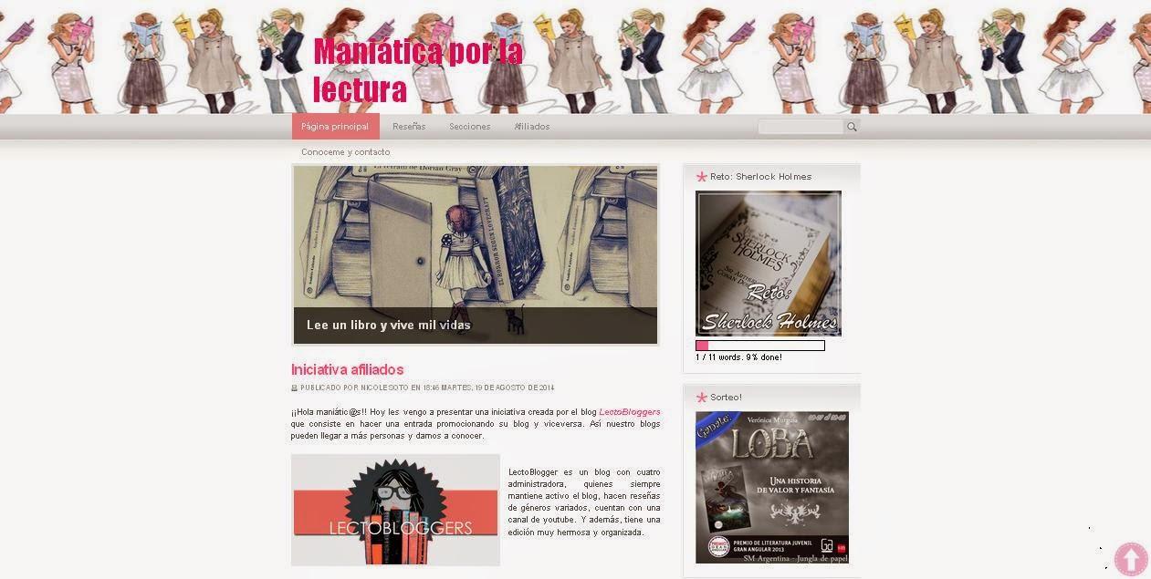 http://maniaticaporlalectura.blogspot.com.ar/