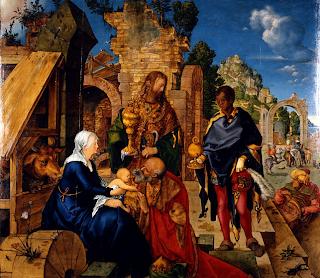 L'Adoració dels reis de Dürer
