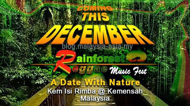 Rainforest Reggae Music Festival KL