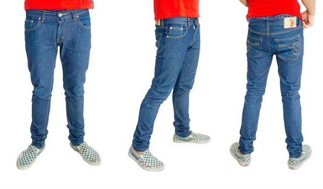 tarik jeans blue skinny