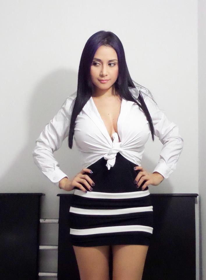 Dayana Perez Sosa una mujer muy simpatca en las redes sociales con sus