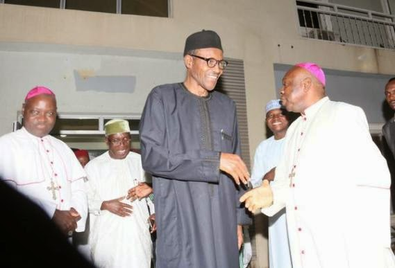 buhari meeting catholic bishops