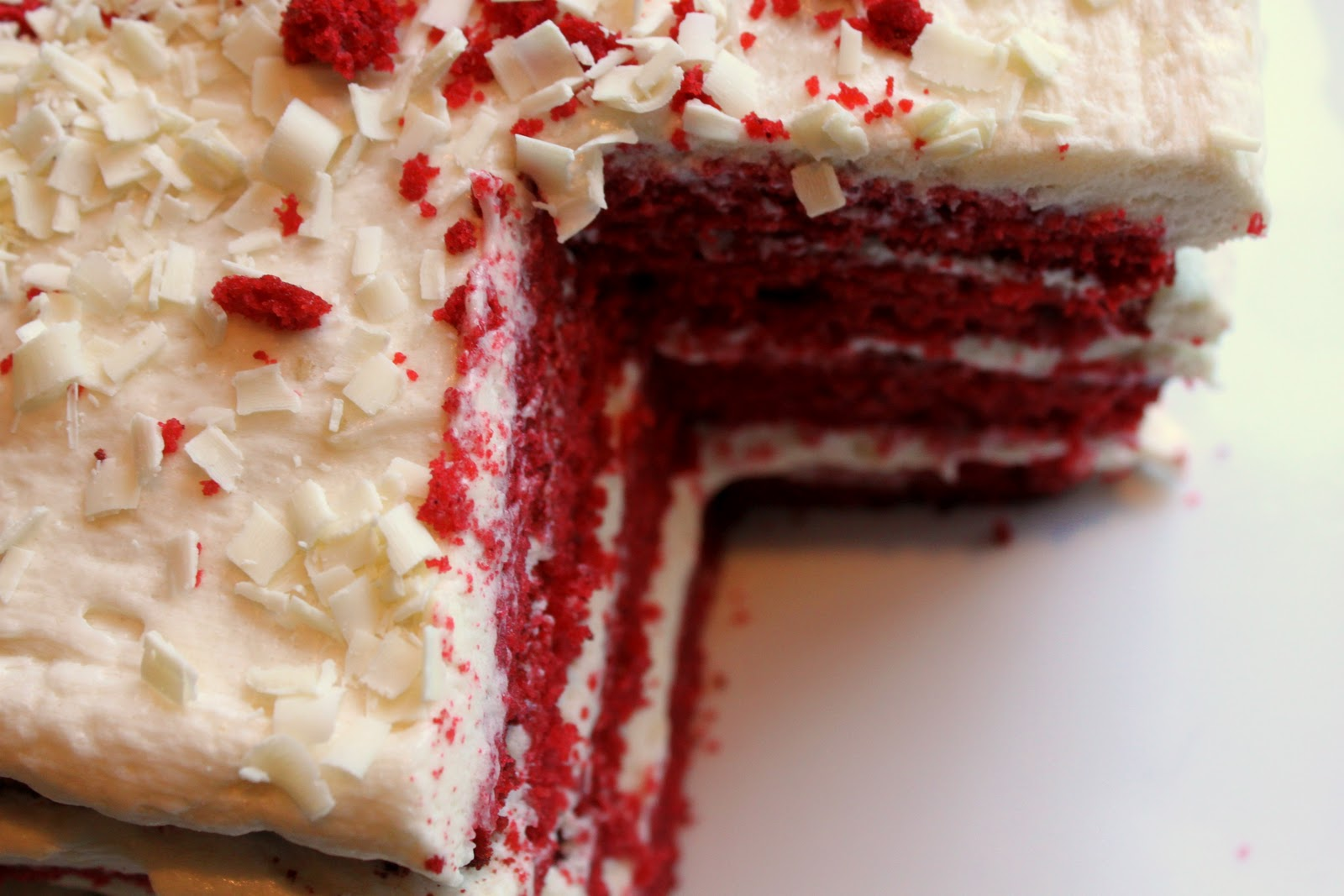 Cake Red Velvet White Chocolate : Red Velvet Chocolate Cake Recipe   Dishmaps