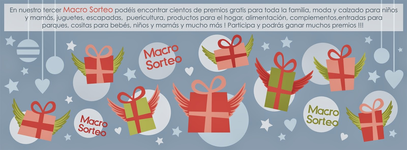 3er Macro Sorteo. Participa y Gana premios GRATIS!
