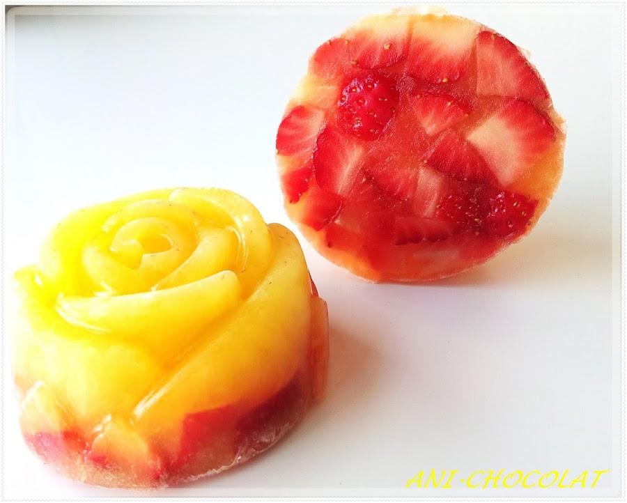 Gelatina de fresas naturales - Postres con fresas naturales ...