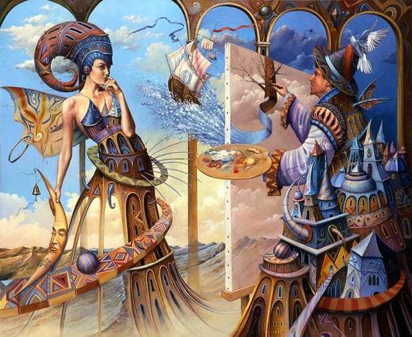 O universo surreal e mágico de Tomasz Sętowski