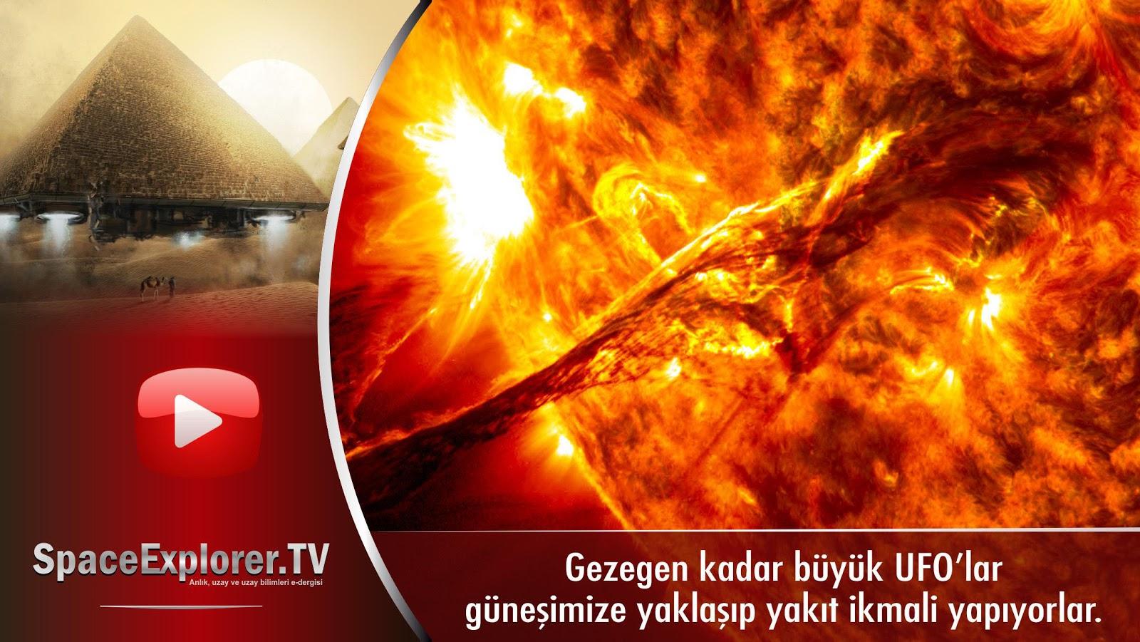 Videolar, Güneş, UFO'lar gerçek mi?, Dev UFO'lar, Uzayda hayat var mı?, SOHO, NASA, Evrende yalnız mıyız?, UFO,