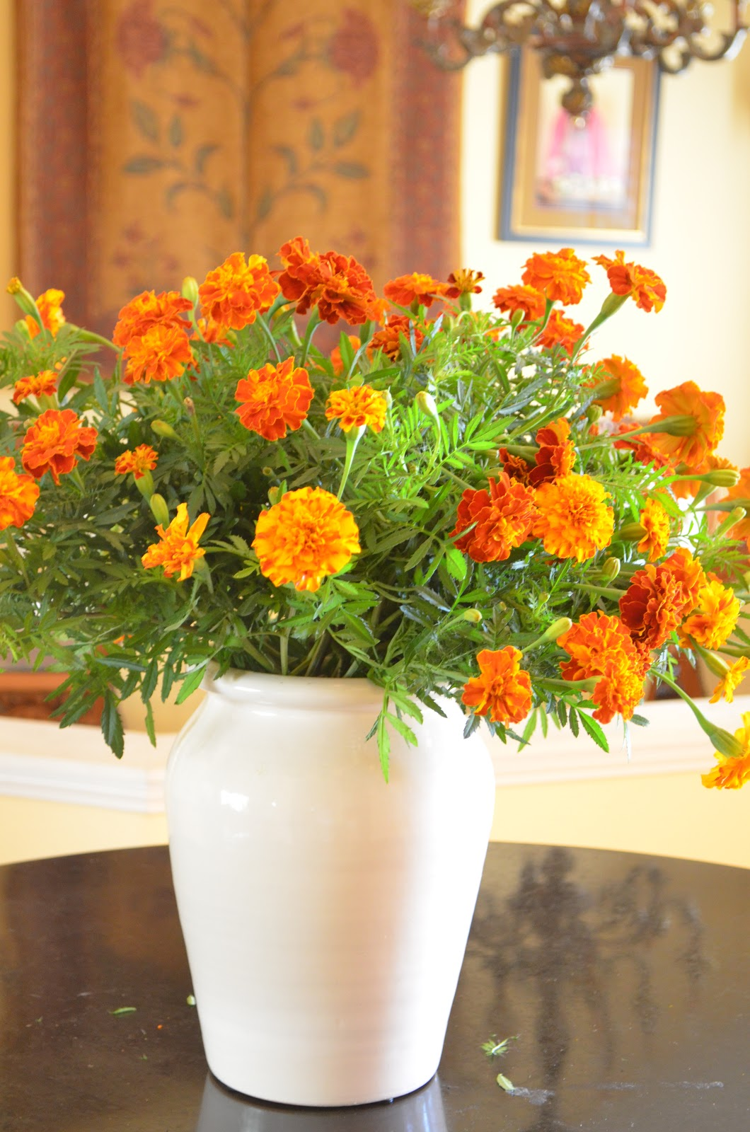 Designing With Marigolds