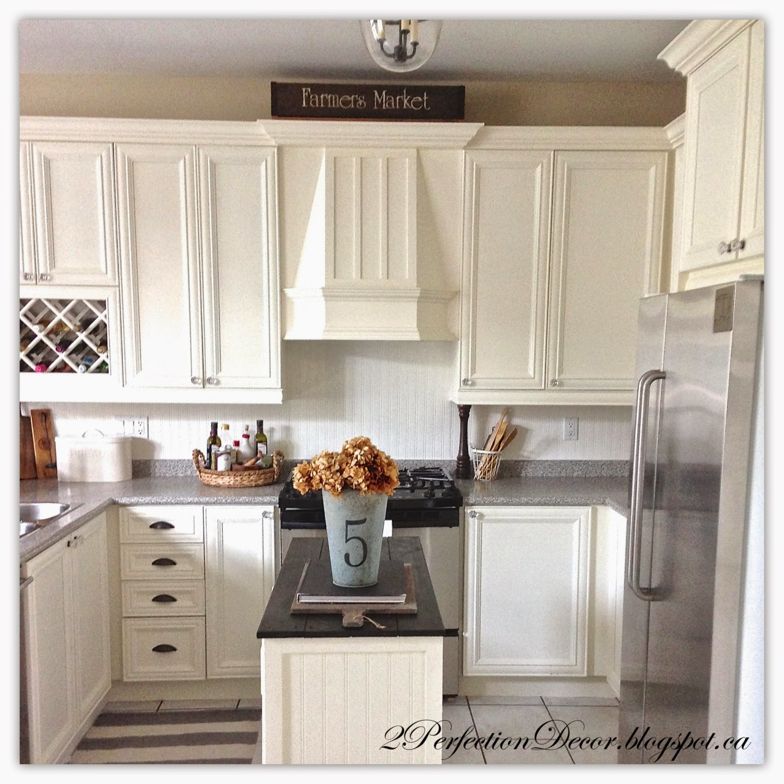 2perfection decor painted french country kitchen reveal for 30 kitchen cabinets