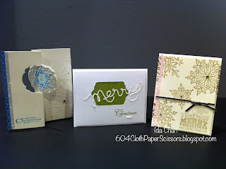 Stamp-a-stack I October by Ida Chan Stampin' Up! Vancouver