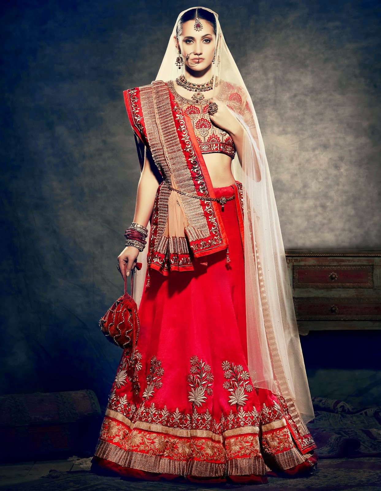 Nihaal Bridal Wear Wedding Dresses Collection 2014 latest fashion