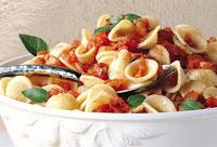 Orecchiette com Molho de Tomate (vegana)