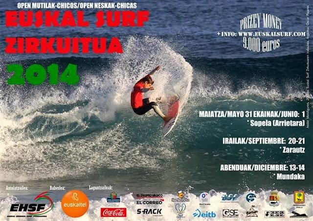 Euskal Surf Zirkuitua 2014 Sopelana