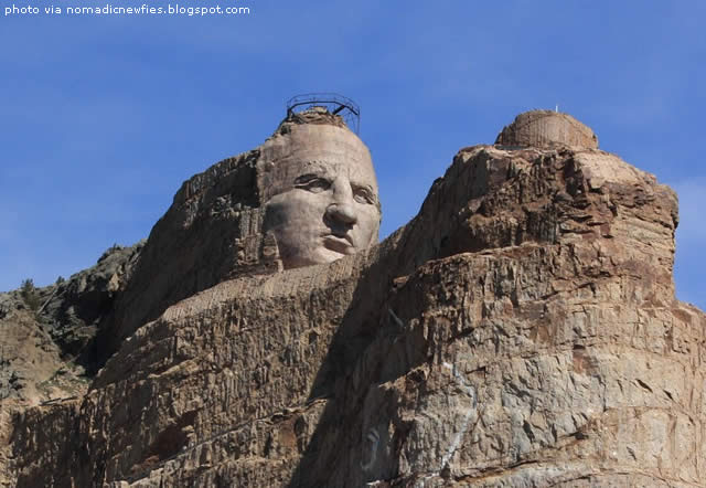 Crazy Horse Monument. South Dakota