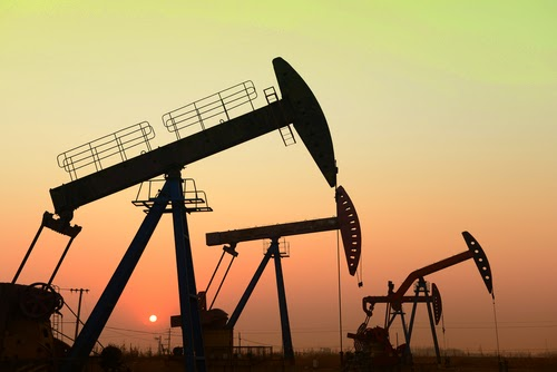 Oil field pump jacks (Credit: Future Energy Growth/shutterstock) Click to enlarge.
