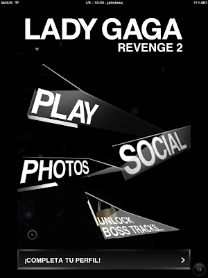  Lady Gaga Revenge 2: si, ella tambin tiene su juego para iPhone y iPad.