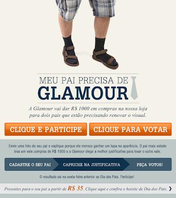 "CONCURSO CULTURAL ""MEU PAI PRECISA DE GLAMOUR"""