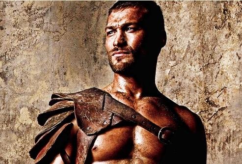 Andy Whitfield protagonista de Spartacus/Espártaco