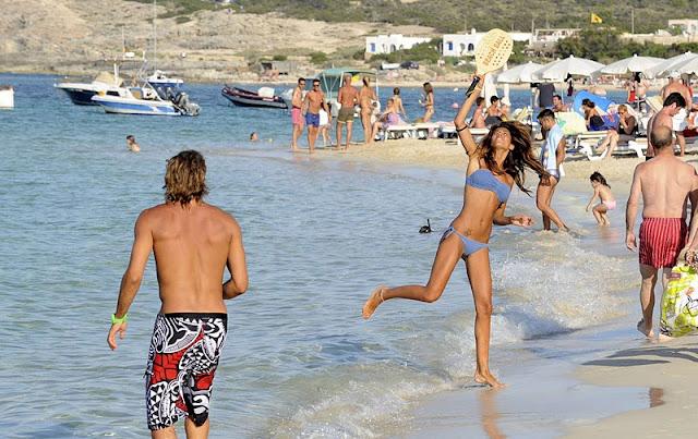 Federica Nargi – Bikini Candids in Formentera