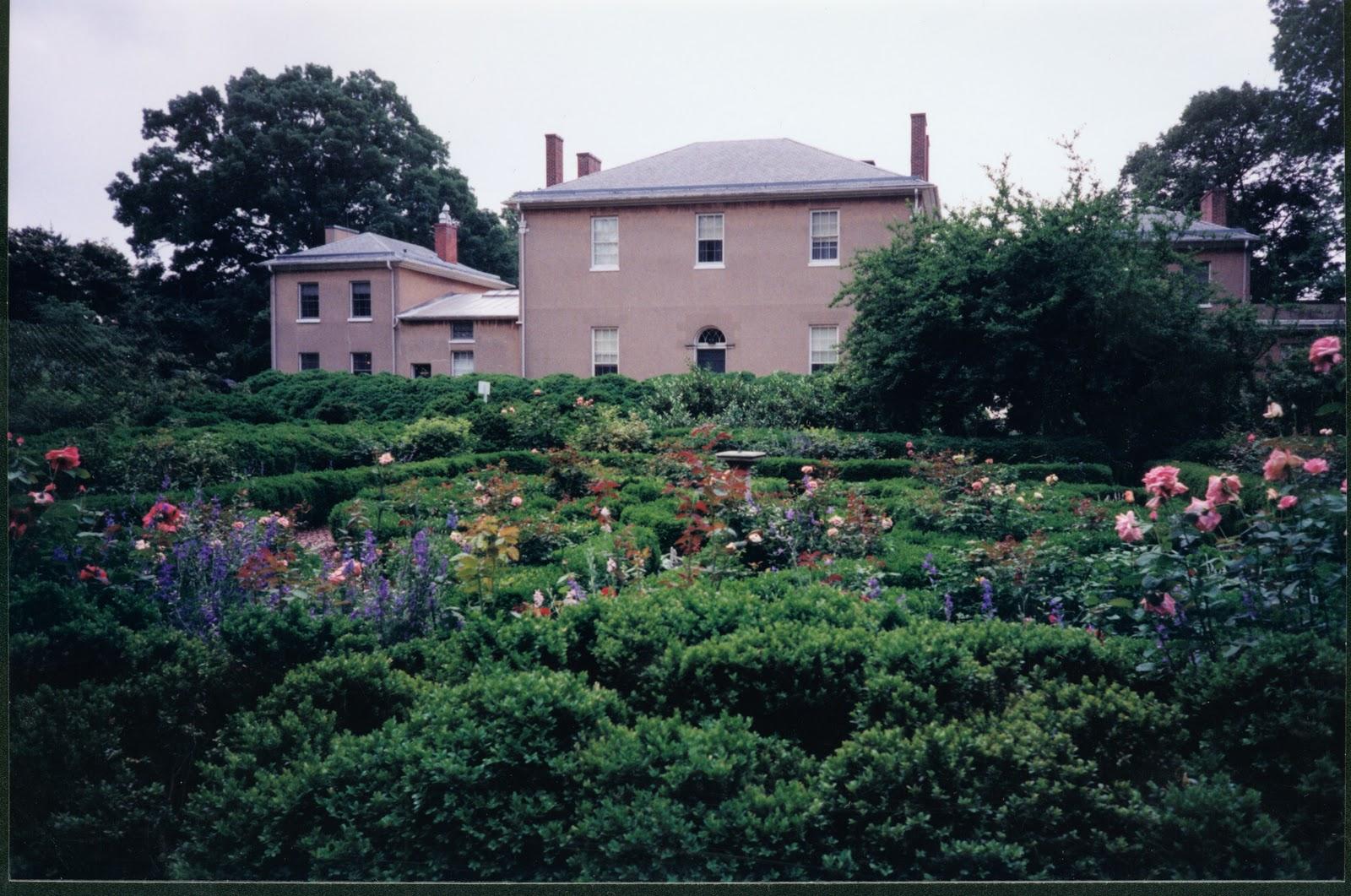 Shovel ready knot garden restoration underway tudor Tudor place historic house and garden