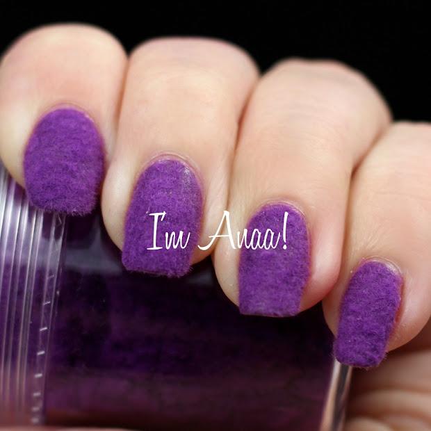 velvet nails with born