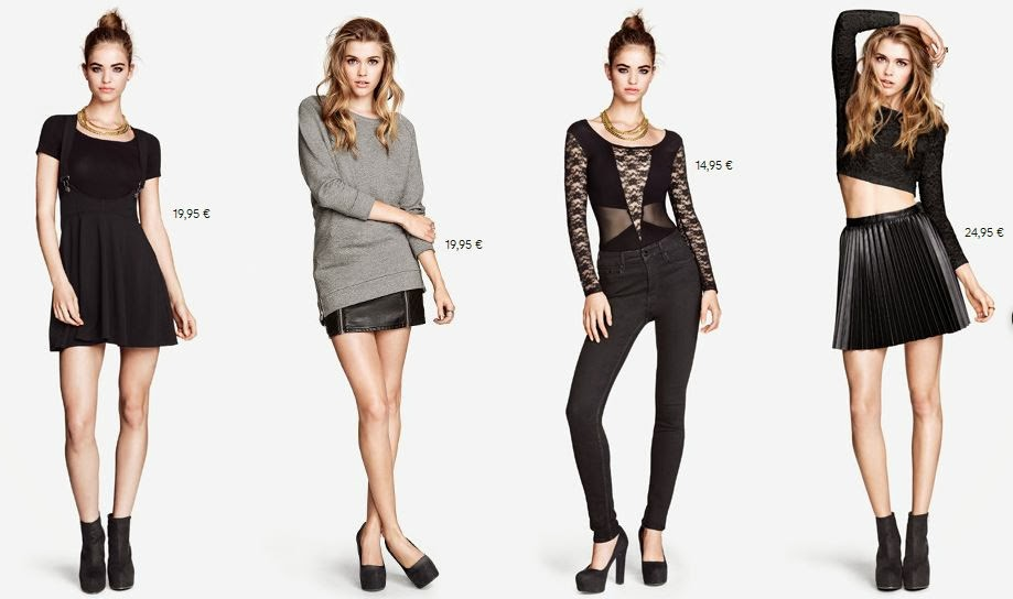 H&M October's Looks