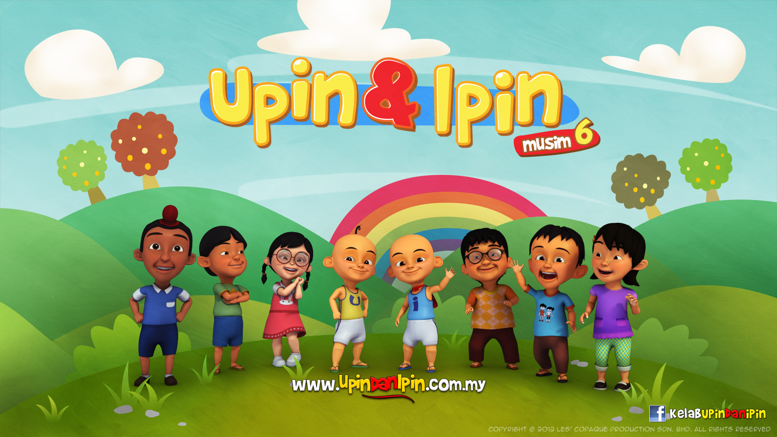 Upin Ipin At School