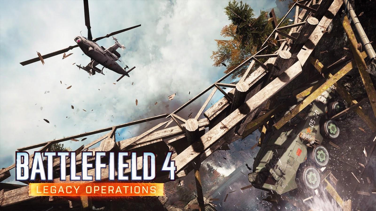 Análise - Battlefield 4: Legacy Operations