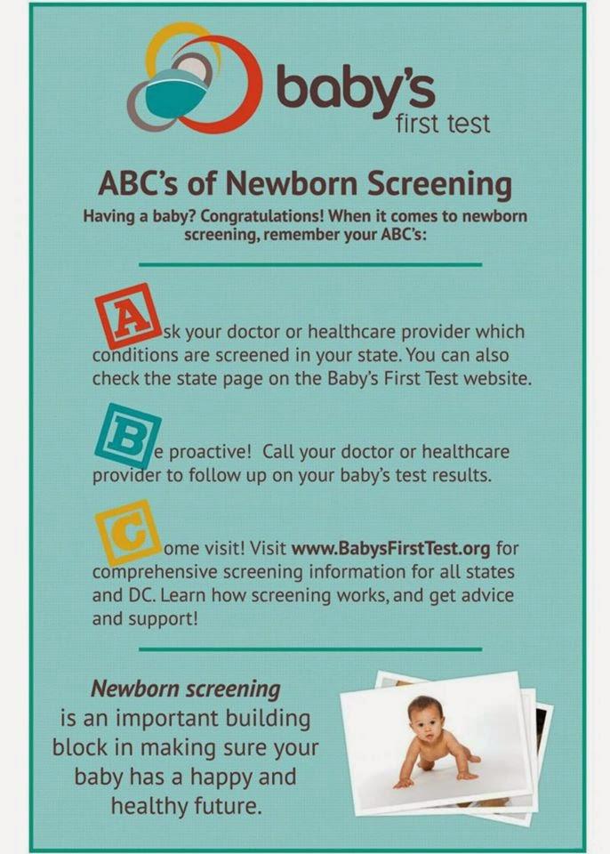 ABC's of Newborn Screening