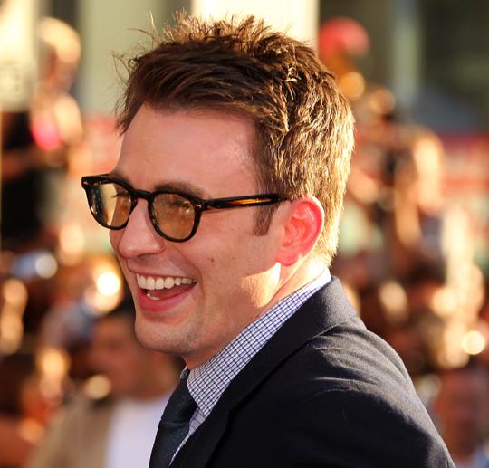 Chris Evans Smile