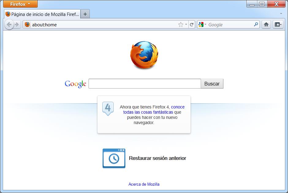 Firefox Tan