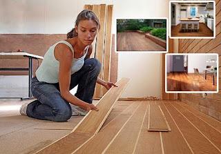 Tipe dan model lantai kayu ruangan