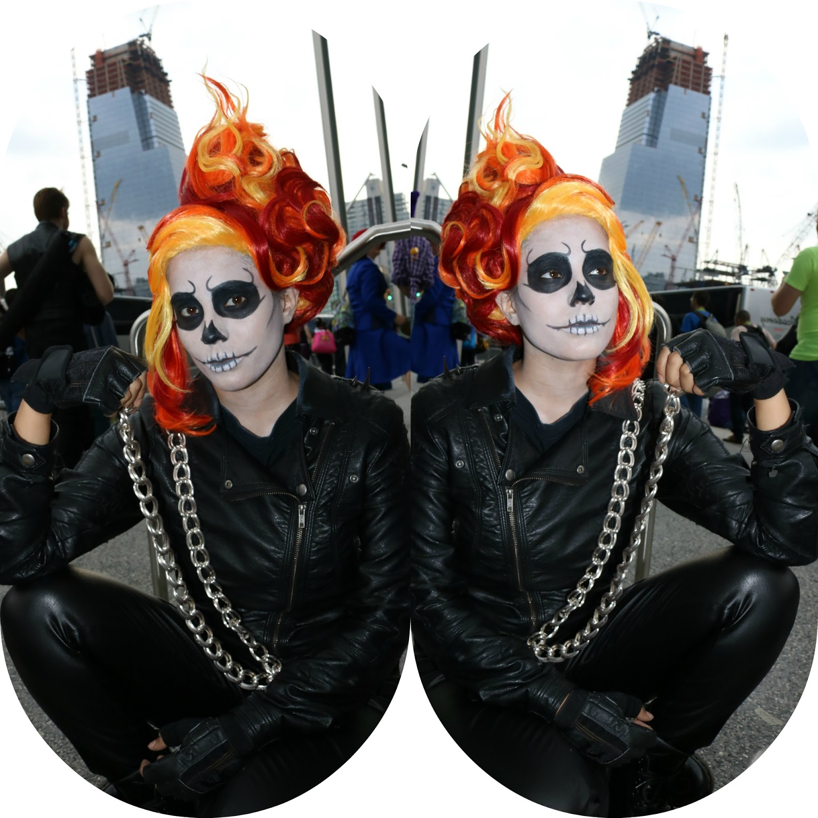 Ghost Rider Cosplay At New York Comic Con 2015. - Nubia's Nonsense