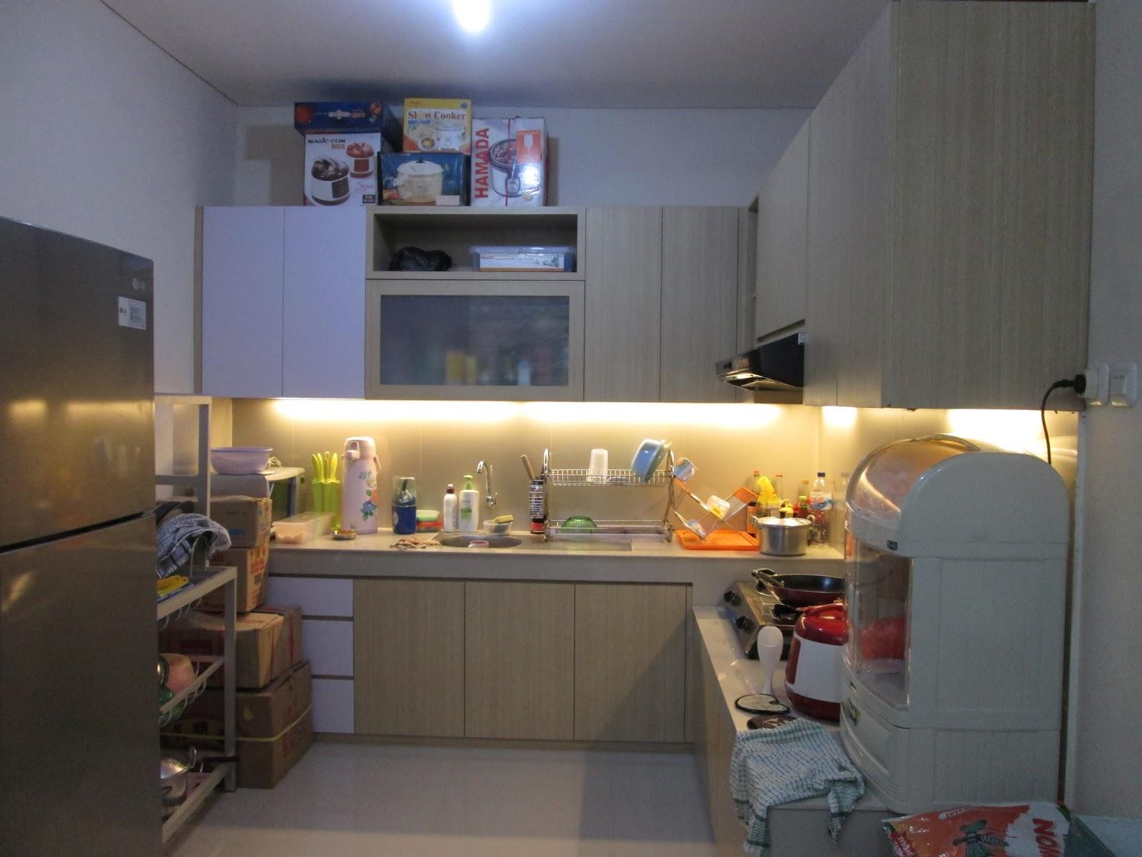 concept idea kitchen set minimalis