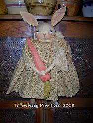 Bunny w/carrot ~