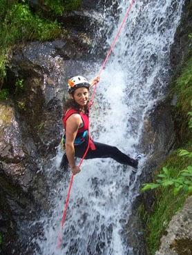 canyoning jogjakarta indonesia