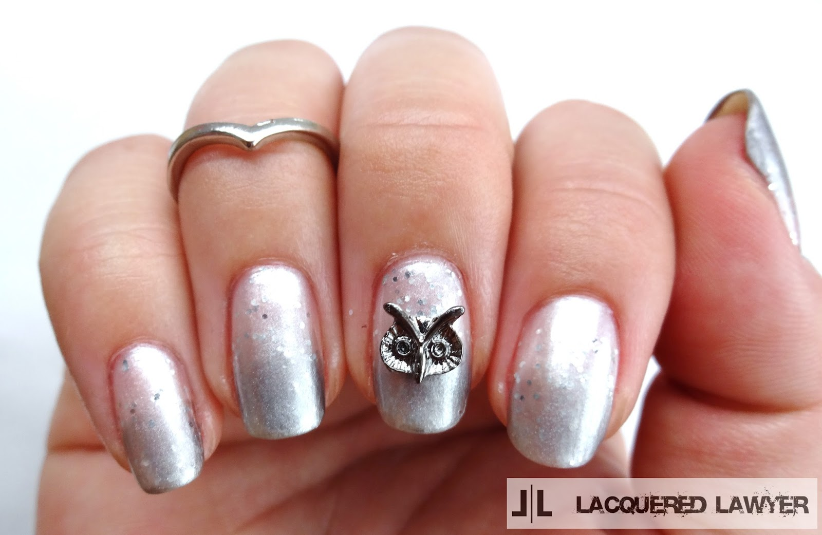 Owl Nail Charm