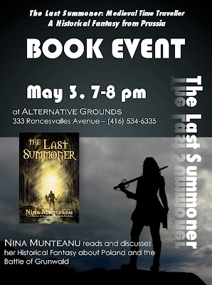 TLS Alternative Grounds AD 3 Nina Munteanu Reads The Last Summoner at Alternative Grounds
