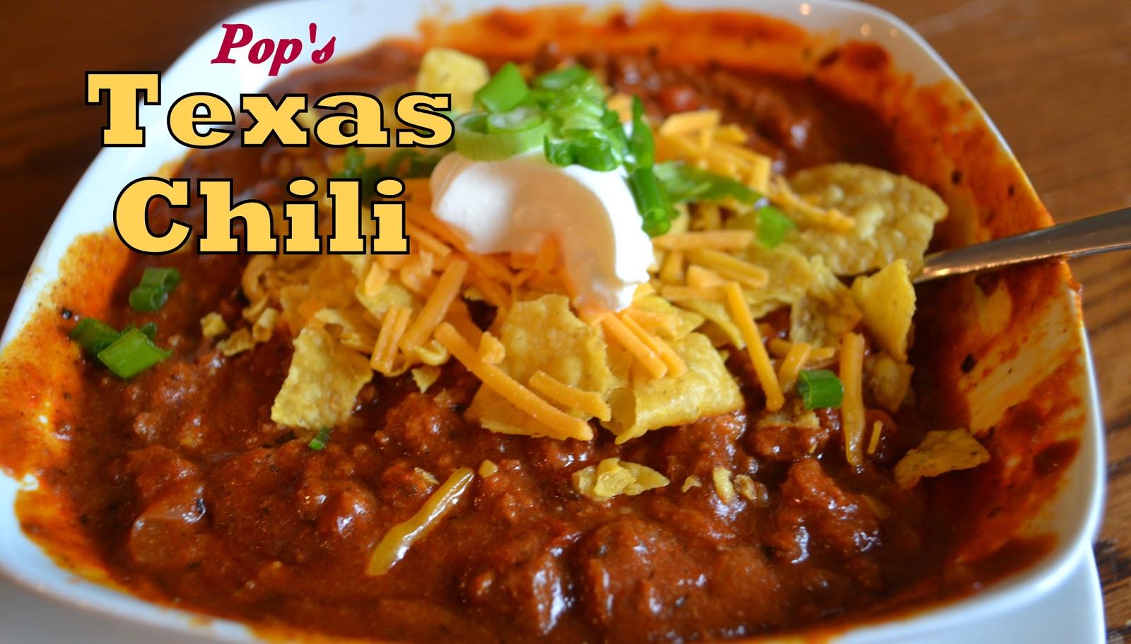 True Texas Chili Recipes — Dishmaps