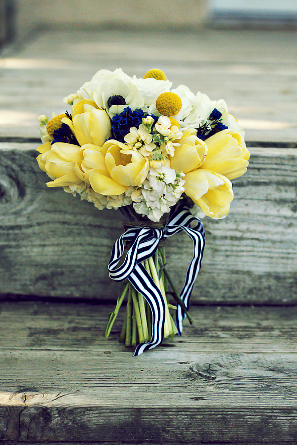 Wedding Ribbons Bridal Bouquet