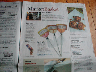 This Charming Candy lollipops featured in Philadelphia Inquirer