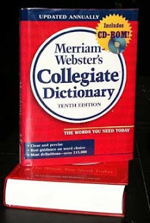Hardcover version of tenth edition Merriam-Webster dictionary