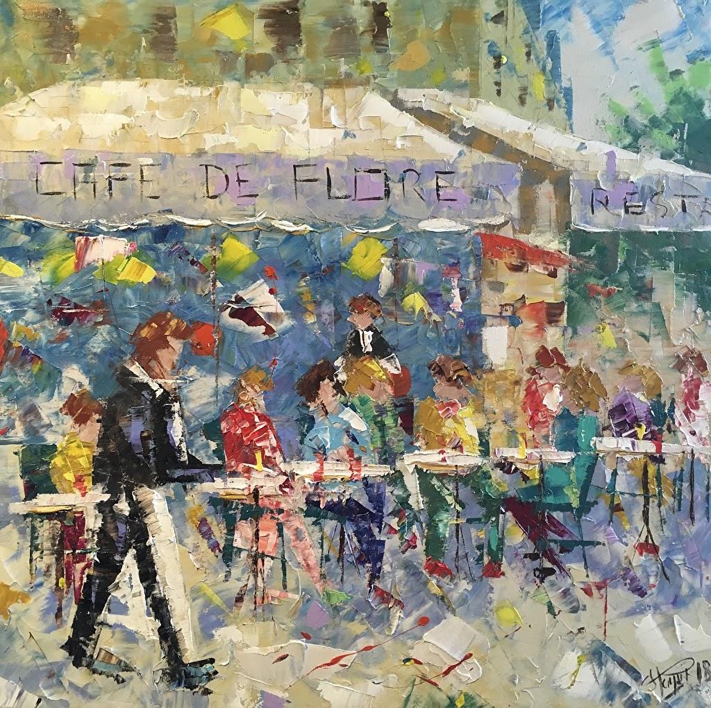 Frederic Payet Cafe de Flore Paris